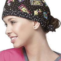 Buy Mary Engelbreit Love Home Family Friend Printed Surgical Scrub Cap for $7.95