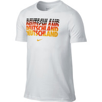 Nike Germany Core Type Slim Fit T-Shirt - White