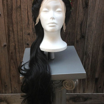 Romantic Rennaissance Lady of the Court Lace Front PRO Princess Wig Quality Custom Couture Styled