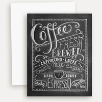 Coffee Lover's - A2 Note Card