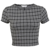 Mini Check Co-ord Top