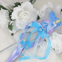 Cinderella Wand - Cinderella Party - Disneys Cinderella - Princess Accessories - Princess Wand - Cinderella Birthday - Dress Up Girls