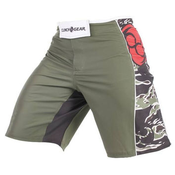 Clinch Gear Signature Bengal Men's Shorts Rifle Green