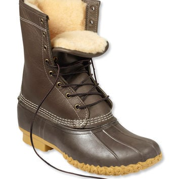 """Women's L.L.Bean Boots, 10"""" Shearling-Lined"""