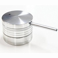 CNC Metal Herb Grinder 5 Piece with Free Pipe 2.0 Inch