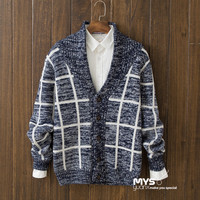 Casual Men's Comfortable Knitwear Cardigan Sweater