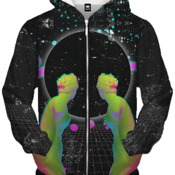 Double Vision Zip Up Hoodie