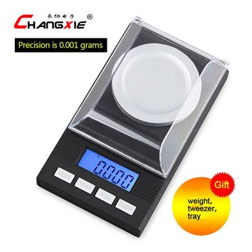 20g / 0.001g LCD Digital Electronic Scale Laboratory Balance High Precision Meas