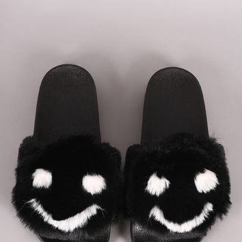 Smiley Face Slide Sandal