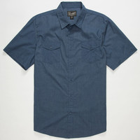 Retrofit Ian Mens Shirt Blue  In Sizes
