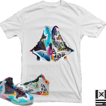 Lebron 11 What the Lebron Sneaker Tees by Dapper Sam