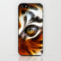 tiger  iPhone & iPod Skin by Mark Ashkenazi