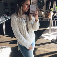 Style Icon Sweater - Cream