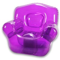 Inflatable Bubble Chair, Perfect Purple
