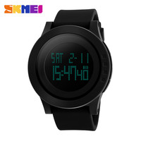2016 New SKMEI Luxury Brand Men Military Sports Watches Waterproof LED Digital Watch For Men Clock Black Relogio Masculino