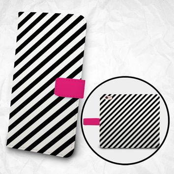 iPhone 6 6S Plus case, Samsung Galaxy S6 case, Edge case, Note 5 4 3 2 PU leather flip cover, wallet case, Zebra pattern (BBSP-003)