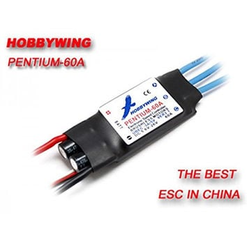 (Ship from USA) Hobbywing 60A Pentium ESC Speed Controller W/ 3A Switch BEC, 7.4-22.2v