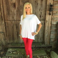 Walk this way Jeggings - Red
