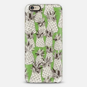 pineapple palm green iPhone 6s case by Sharon Turner | Casetify