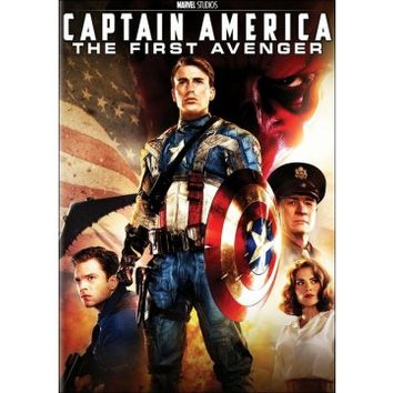 Captain America: The First Avenger (DVD) (Eng/Fre/Spa/Por) 2011