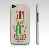 PHONE CASE Buddy the Elf iPhone or Samsung Galaxy, Son of a Nutcracker! -  #buddytheelf #buddy #holidays #christmas #nutcracker #moviequote