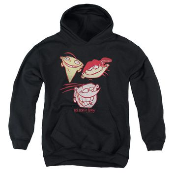 Ed Edd Eddy - Three Heads Youth Pull Over Hoodie