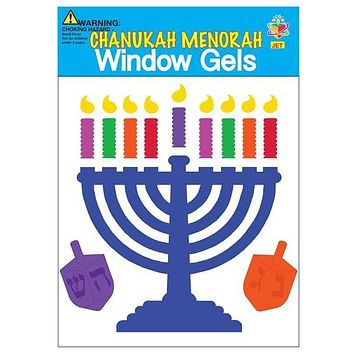 Window Gel Fun - Chanukah Decorations Hanukkah Kids