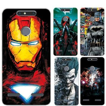 Deadpool Dead pool Taco Charming Painted Case Cover For ZTE  V8 Lite 5.0 inch Marvel Avengers Captain America  Funda For ZTE V8 Lite Phone AT_70_6