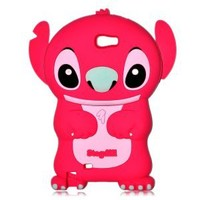 Authentic RED Lilo and Stitch 3D Soft Case Cover for Samsung Galaxy Note II GT-N7100
