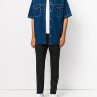 Ami Alexandre Mattiussi Oversized Denim Shirt - Farfetch