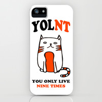 YOLNT You Only Live Nine Times  iPhone & iPod Case by LookHUMAN