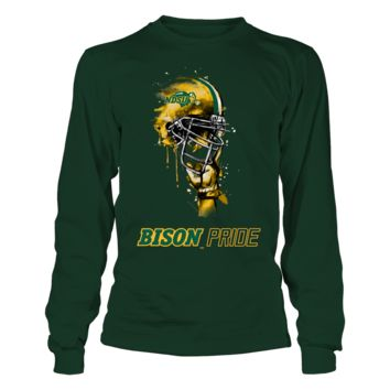 North Dakota State Bison - Rising Helmet - T-Shirt - Officially Licensed Fashion Sports Apparel