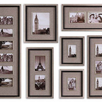 Uttermost Massena Photo Frame Collage, S/7 - 14458
