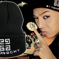 G-Dragon Giyongchy Beanie Hat *-UK SELLER-* Big Bang GD Knit Kpop K-Pop GDragon