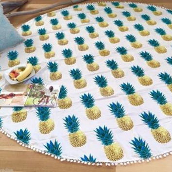 Beach Shawl Wrap Pineapple Dress Mat [8805151623]