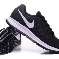 """""""Nike Air Zoom Pegasus 33"""" Unisex Sport Casual Fly Knit Multicolor Sneakers Couple Running Shoes"""