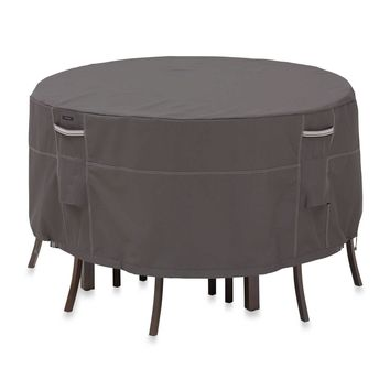 Classic Ravenna Patio Table & Chair Set Cover - Round Small