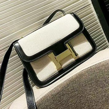 Hermes New fashion high quality shoulder bag women Black