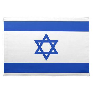 Israelian Flag on MoJo Placemat