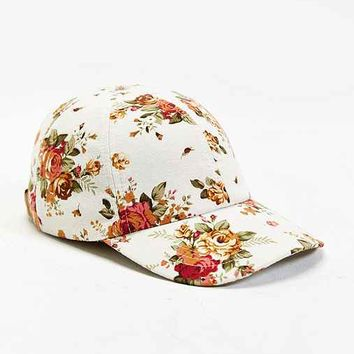 rosin floral baseball hat from outfitters vintage