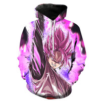 Black Goku Dragon Ball Z Hoodie