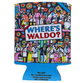 Where's Waldo - Corridors of Time Can Cooler