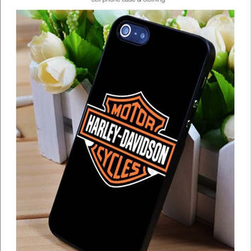 Harley Davidson logo iPhone for 4 5 5c 6 Plus Case, Samsung Galaxy for S3 S4 S5 Note 3 4 Case, iPod for 4 5 Case, HtC One for M7 M8 and Nexus Case