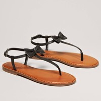 AEO Bow T-Strap Sandal   American Eagle Outfitters