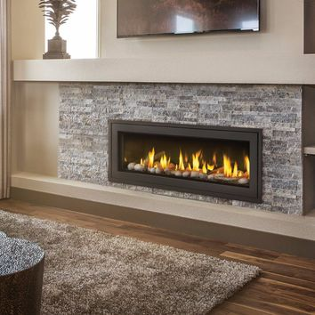 "Napoleon Linear LHD45 Direct Vent 45"" Electronic Ignition Fireplace with Surround"