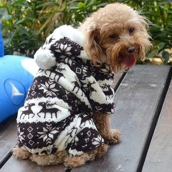 Pet Dog Cat Puppy Warm, Sweater, Hoodie, Jumpsuit