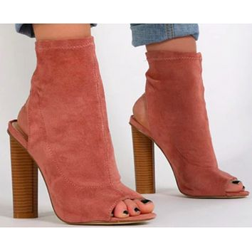 WOMENS SLINGBACK BOOTIE