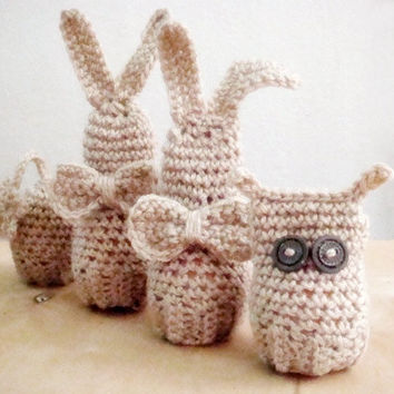 Easter Amigurumi Crochet PDF PATTERN Set Bunny by PATTERNSbyFAIMA