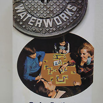 Vintage 1972 WATERWORKS Leaky Pipe Card Game By Parker Brothers Made USA