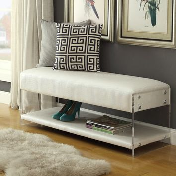 Serena Upholstered Storage Bench